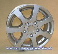 Alloy rims /wheels for caravans + trailer 14 inch