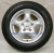 Alloy complete wheels 10 + 13 inch caravan trailer