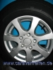205/70R15 C 106/104  PREMIUM CONTINENTAL VANCO    ALLOYWHEEL incl.  OJ 15   for Caravan, trailer
