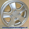 5Jx13 4/60/100 ET30 TR1 503  alloyrim alloy rim for caravan / trailer max.  800 kg