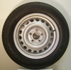 185/65R15 88T  DUNLOP FOR HARBECK  SPARE WHEEL TRAILER / BOATTRAILER  TYRE + RIM