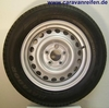 185/65R14 86 T DUNLOP FOR HARBECK  SPARE WHEEL TRAILER / BOATTRAILER  TYRE + RIM