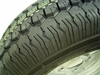 145/80R10 145R10 74N  HARBECK SPARE  WHEEL TRAILER / BOATTRAILER  TYRE + RIM